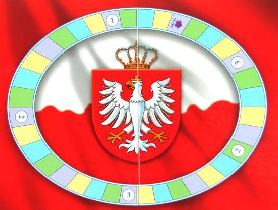 Plansza do gry - Mini Quiz historia Polski