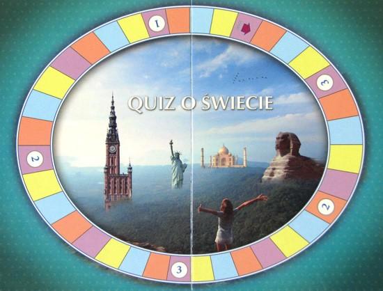Plansza do gry - Mini Quiz o świecie