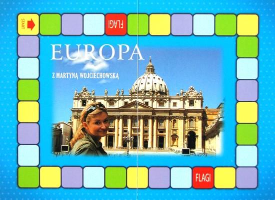 plansza do gry Quiz - Europa z Martyną
