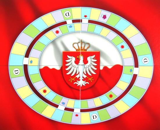 Plansza do gry - Quiz historia Polski WIELKI