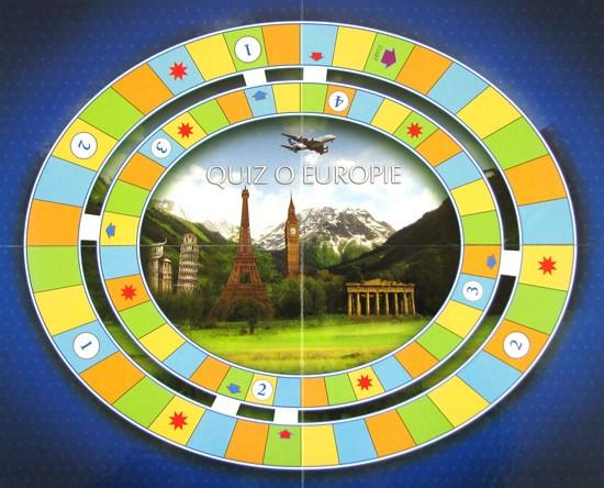 Plansza do gry - Quiz o Europie