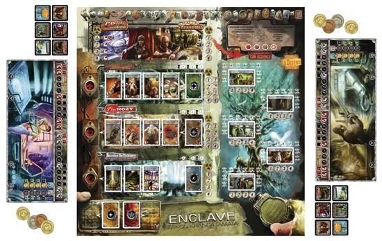Enclave  - rozłożona gra w wersji dla 2 osób