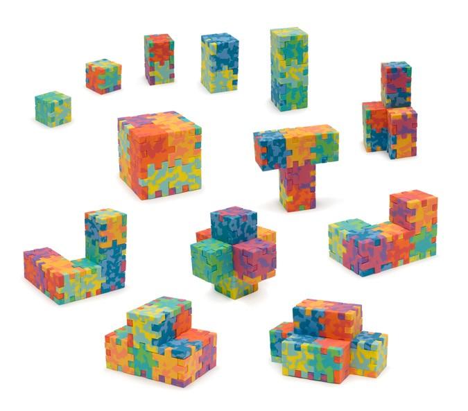 Profi Cube - wzory powstałe z połączenia różnych zestawów