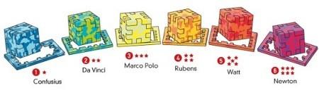 Profi Cube - wszystkie łamigłówki