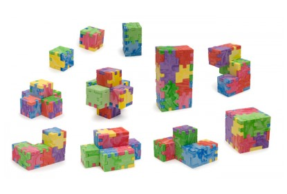 Marble Cube - wzory powstałe z połączenia różnych zestawów