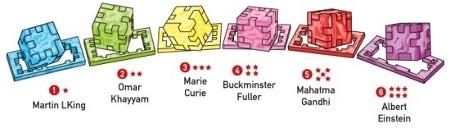 Marble Cube - wszystkie łamigłówki