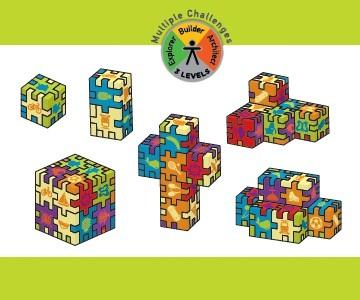 Little Genius - wzory powstałe z połączenia różnych zestawów
